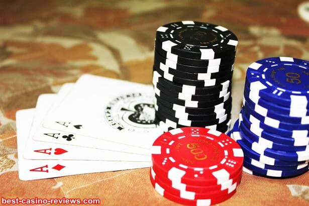 The upside of playing poker online